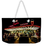 Leon's Frozen Custard Weekender Tote Bag by Scott Norris