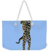 Leopard Panthera Pardus Weekender Tote Bag
