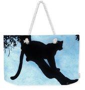 Leopard - Silhouette Weekender Tote Bag