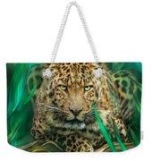 Leopard - Spirit Of Empowerment Weekender Tote Bag