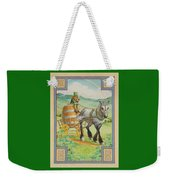 Leprechaun Weekender Tote Bag by Lynn Bywaters