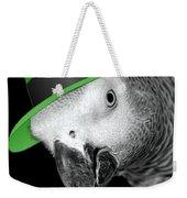 Leprechaun Parrot Weekender Tote Bag