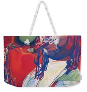 Leroi Moore Colorful Full Band Series Weekender Tote Bag