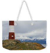Les Eclaireurs Lighthouse Southern Patagonia Weekender Tote Bag