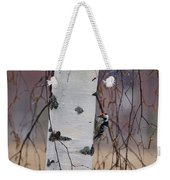 Lesser Spotted Woodpecker Weekender Tote Bag