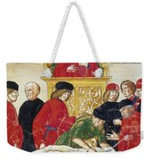 Lesson In Dissection Weekender Tote Bag