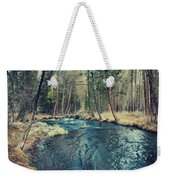 Let It All Go Weekender Tote Bag by Laurie Search