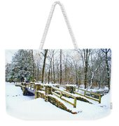 Let It Snow Let It Snow Weekender Tote Bag
