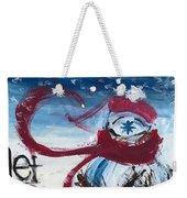 Let It Snow Version One Weekender Tote Bag