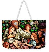 Let The Children Come To Me Weekender Tote Bag