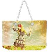 Let Us Dance In The Sun Weekender Tote Bag