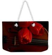 Let Us Make Beautiful Music Together Weekender Tote Bag