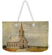 Let Us Worship Weekender Tote Bag