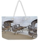 Let's Blow This Joint Weekender Tote Bag by Betsy Knapp