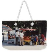 Lets Do Lunch Mexico Series By Tom Ray Weekender Tote Bag