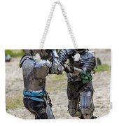 Lets Fight Weekender Tote Bag