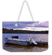 Lets Go Fishing Weekender Tote Bag