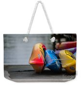 Lets Go Kayaking Weekender Tote Bag
