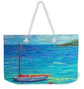 Let's Go Sailing Weekender Tote Bag