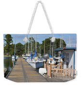 Let's Go Sailing Weekender Tote Bag