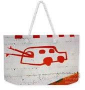 Let's Go Surfing Weekender Tote Bag by Chiara Corsaro