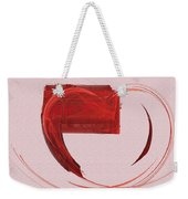 Letter From My Heart Fine Fractal Art Weekender Tote Bag