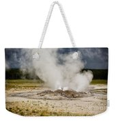 Letting Off Steam - Yellowstone Weekender Tote Bag