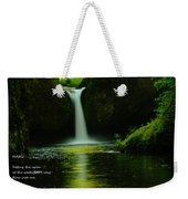 Letting The Calm Weekender Tote Bag