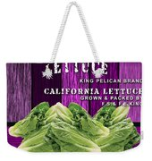 Lettuce Farm Weekender Tote Bag