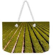 Lettuce Farming Weekender Tote Bag