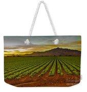 Lettuce Sunrise Weekender Tote Bag