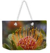 Leucospermum Pincushion Protea - Tropical Sunburst Weekender Tote Bag