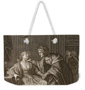 Leucothoe Seduced By Apollo Weekender Tote Bag