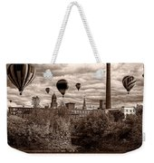 Lewiston Maine Hot Air Balloons Weekender Tote Bag