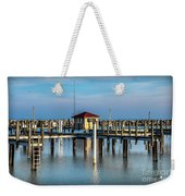 Lexington Harbor With No Boats Weekender Tote Bag