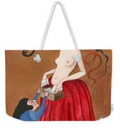 Liberation From The Past Weekender Tote Bag