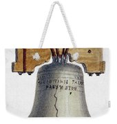 Liberty Bell Weekender Tote Bag