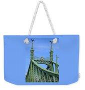 Liberty Bridge Budapest Weekender Tote Bag