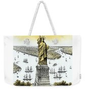 Liberty Enlightening The World  Weekender Tote Bag by War Is Hell Store