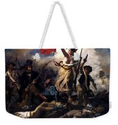 Liberty Leading The People During The French Revolution Weekender Tote Bag