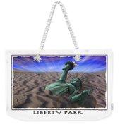 Liberty Park Weekender Tote Bag