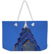 Liberty Place Skyscrapper At Dusk Weekender Tote Bag