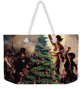 Liberty Places Star On The Tree Weekender Tote Bag