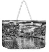 Liberty Square Riverboat Weekender Tote Bag by Howard Salmon