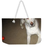 Liberty The Dog And Her Ball Weekender Tote Bag