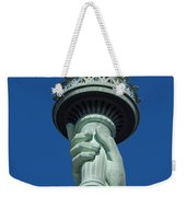 Liberty Torch Weekender Tote Bag by Brian Jannsen