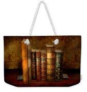 Librarian - Writer - Antiquarian Books Weekender Tote Bag