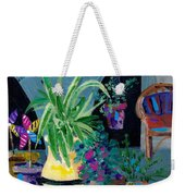 Library Courtyard-rhodes Old Town Weekender Tote Bag