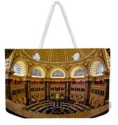 Library Of Congress Main Reading Room Weekender Tote Bag