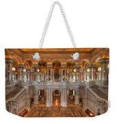 Library Of Congress Weekender Tote Bag by Steve Gadomski